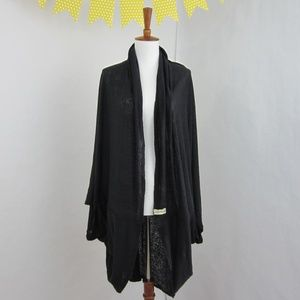 Cambodian Cover in Black, Multipurpose Wrap Poncho
